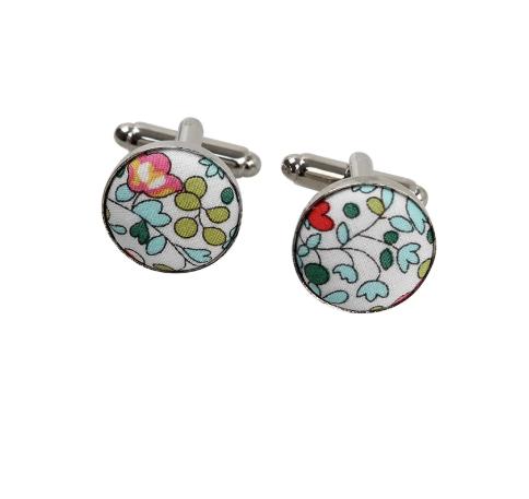boutons de manchette eloise turquoise