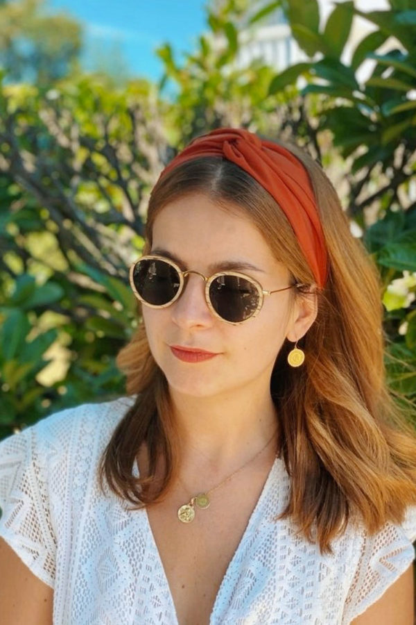 headband terracota