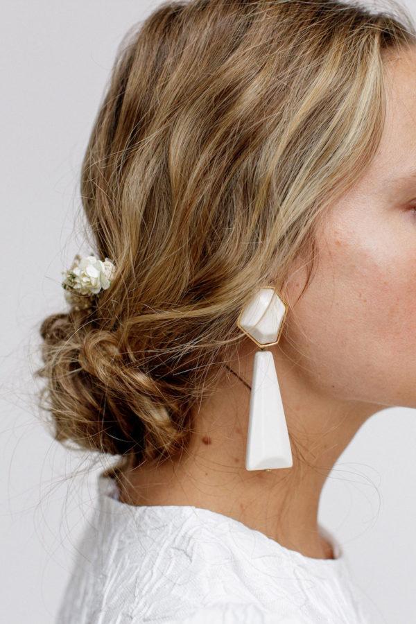 boucles d'oreilles clips wallis